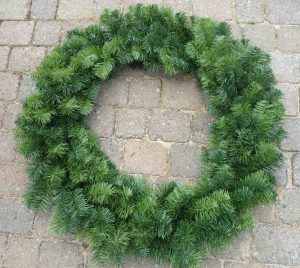 60cm Single Sided Wreath example image