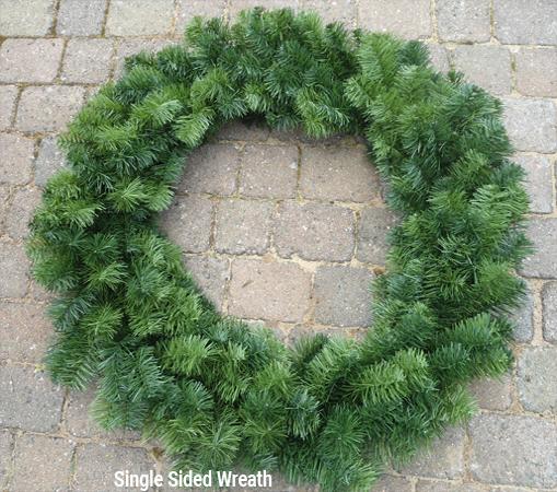 2 foot christmas wreath.