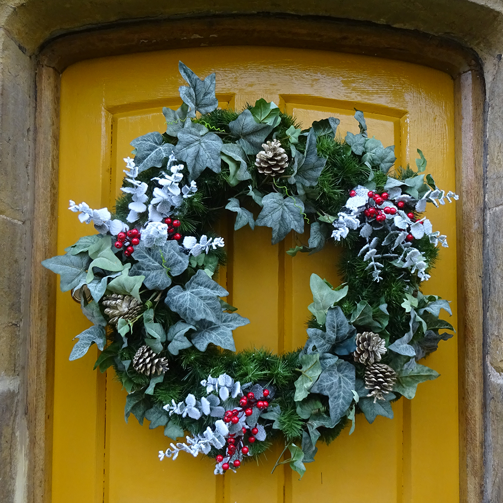 Dressed Garlands and Wreaths