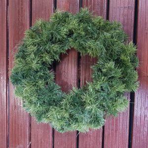 45cm wreath on brass ring